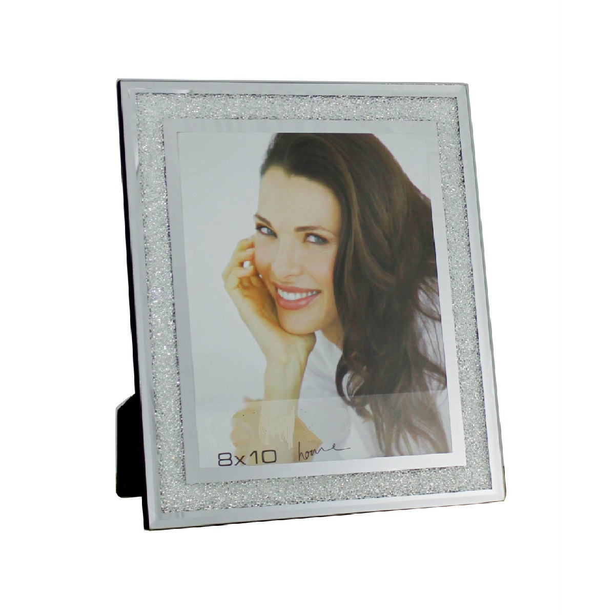 Large Swarovski Crystal Filled Photo Frame 10x8\
