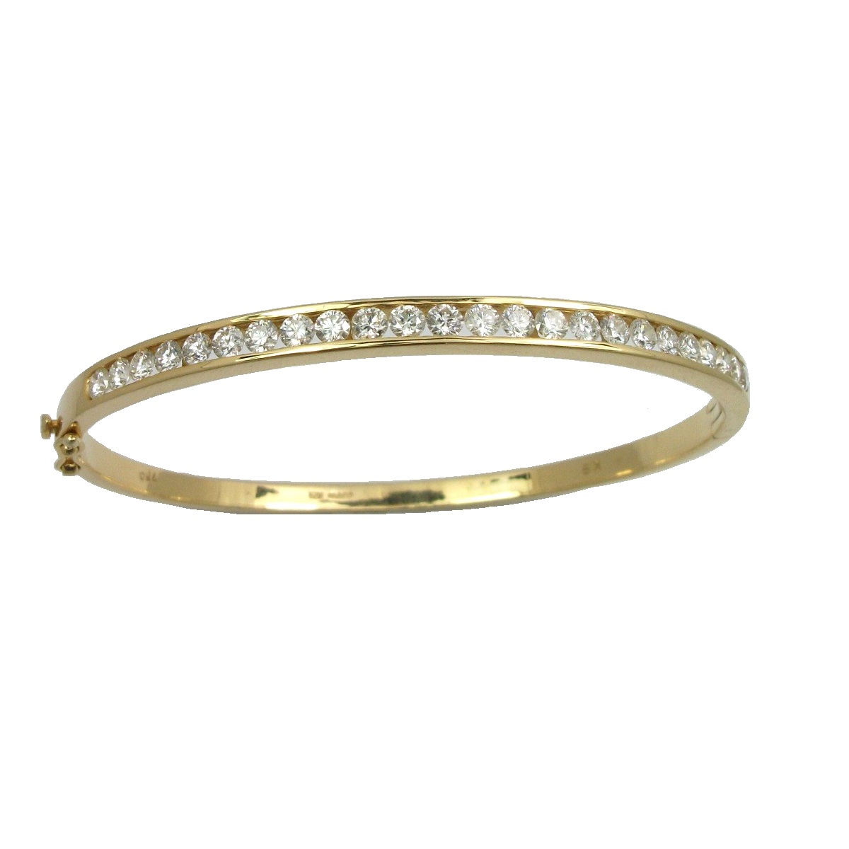 bangle gold bracelet white aquamarine platinum diamond bangles