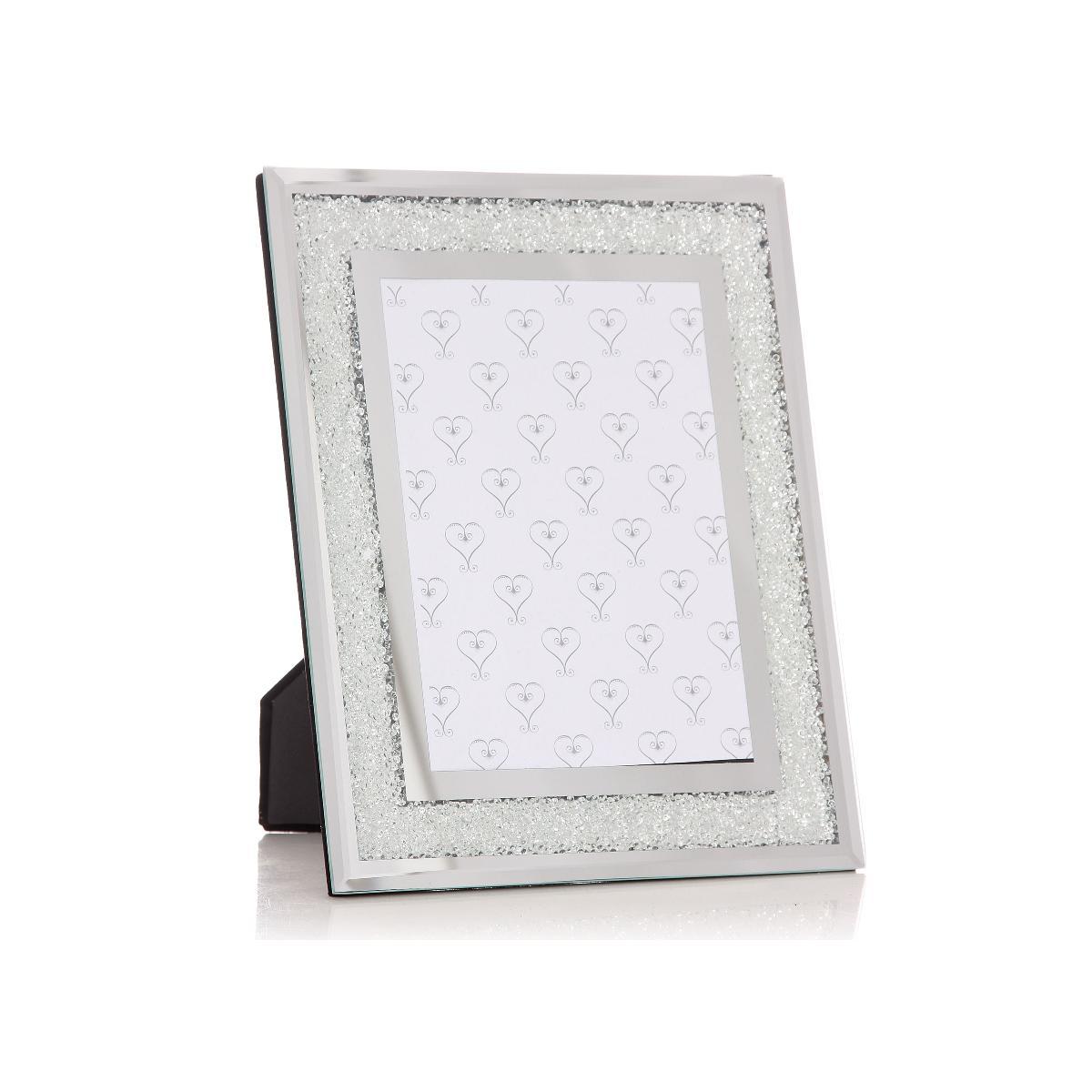 Large swarovski crystal filled photo frame 5x7 diamond affair large swarovski crystal filled photo frame jeuxipadfo Images
