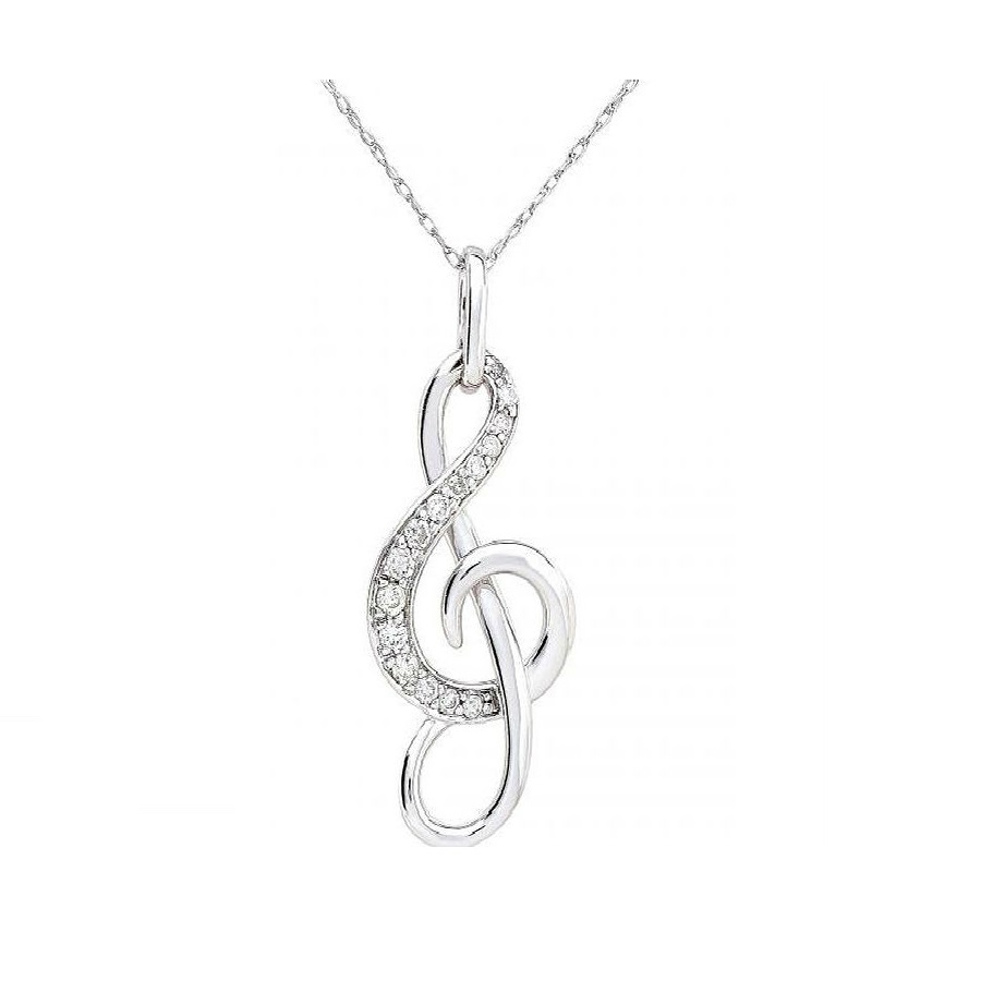 product pcs moon necklace shop lovers musical note gift day phoenix rakuten s couples pendant valentine