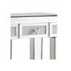 Pedestal Table drawer close up