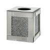 Tuscany Mirrored Tissue Box with Swaroski Crystals Cube3