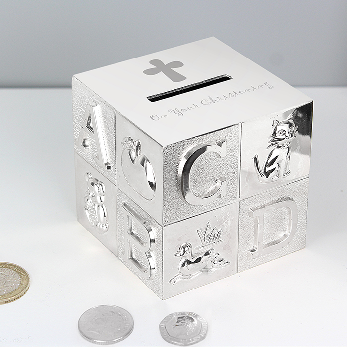 On Your Christening ABC Money Box Gift