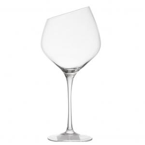 Pair of Angled Rim Wine Glasses