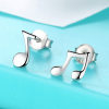 Musical Note Stud Earrings3