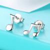 Musical Note Stud Earrings3