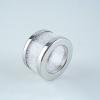 Set Of Napkin Rings Filled With Swarovski Crystal Elements