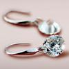 Silver Swarovski Crystal Drop2