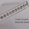Wall Mounted Toilet Roll Holder with Swarovski Crystals 3
