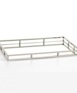 Rectangular Stainless Steel Serving Tray