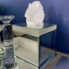 Mirrored Tissue Box with Swarovski Crystals