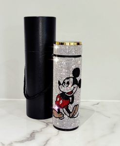Mickey Mouse Digital Water Bottle Flask with Swarovski Crystal Elements
